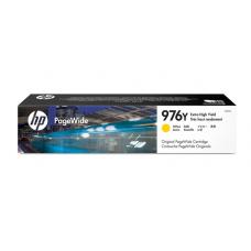惠普(HP)L0R07A 976Y超高容量原装黄色墨盒 页宽打印机耗材 (适用页宽打印机577dw/577z MFP 552dw)