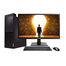 联想(Lenovo)启天 M415-B117 台式计算机 (i3-7100/4GB/128GB SSD+1TB/无光驱/集显) 标配19.5英寸显示器