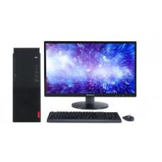 联想(Lenovo) M720s-D181 台式计算机 I5-9500/8G/1T+128G SSD/无光驱/19.5英寸显示器