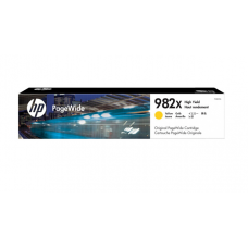惠普(HP)T0B29A 982X 大容量黄色页宽墨盒耗材(适用765dn;780dn;785zs)