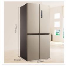 美的(Midea) BCD-468WTPM(E) 468升 十字对开门无霜电冰箱-