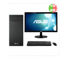 华硕/ASUS D640MB 分体台式计算机(i7-8700/8G/128G/DVDRW/1TB/集显/21.5寸)